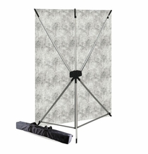 Westcott Mist X-Drop BackDrop Kit, 5' x 7', 574K