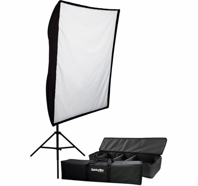 Westcott SpiderLite TD6 1200 Watt Shallow Softbox Light Kit