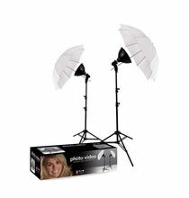Westcott uLite 2 Light Umbrella Kit, 406
