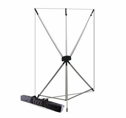 Westcott White X-Drop  BackDrop Kit, 5' x 7', 577K