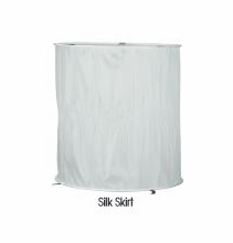 White Silk Skirt Assembly Mole 2000W Space Light