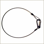 Wire Safety Cable, Black, 26 inch  Heavy Duty Safty