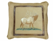 Elk Pillow - LIMITED QUANTITY AVAILABLE