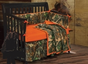 Oak Baby Camo Crib Bedding Collection