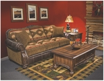 Pine Creek Leather Living Room Set