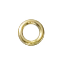 14k GF 4mm Heavy closed jump ring .19ga (10) *new*