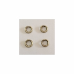Snapeez II Ultraplate 6mm Jump Rings - Brass - (25) *new*