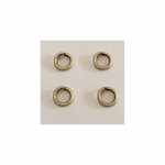 Snapeez II Ultraplate  8mm Jump Rings - Brass - (25) *new*