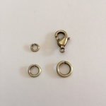 Snapeez Snapping Jump Rings - Brass - Brasseria