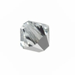 Swarovski 5328 6mm bicone / xilion  Crystal Cal (Comet Argent Light) (24) *new*