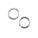 Ultraplate� Snapeez� II Jump Rings Pure Gold, Pure Silver, Flamed Copper, Blackjack, Gray Velvet Matte