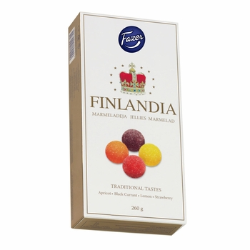 Fazer Finlandia Fruit Jellies Box - 9 oz - Click to enlarge