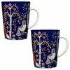 iittala Taika Blue Mug � Set of 2