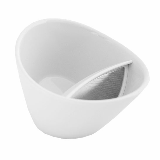 Magisso Snow White Tipping Teacup