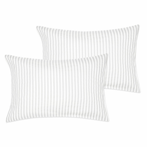 Marimekko Ajo Light Grey Pillowcase Set - King