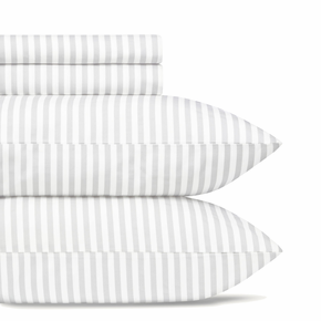 Marimekko Ajo Light Grey Sheet Set - King