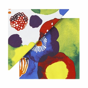 Marimekko Juhannustaika Multicolor Lunch Napkins - Click to enlarge