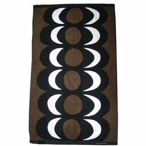 Marimekko Kaivo Brown Towels - Click to enlarge
