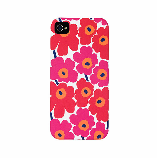 Marimekko Unikko Red/White iPhone 5/5s Case