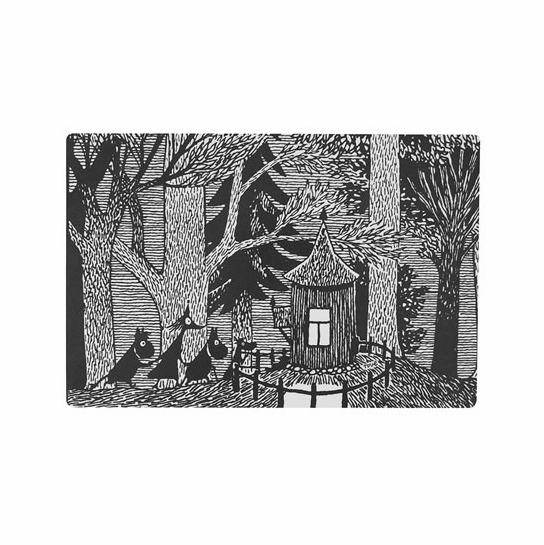 Moomin Cottage in the Woods Cutting Board