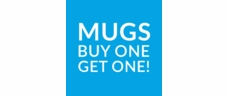 Special Mug Offer: Buy one, get one 1/2 price!