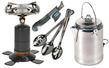 Camping & Emergency Cooking Supplies