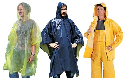 Emergency Rain Gear