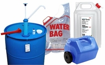 Emergency Water Storage Supplies