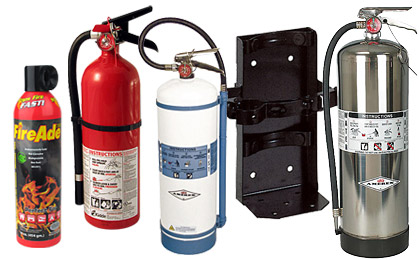 Fire Extinguishers for Your Home, Business & Vehicle