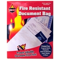 Fire Resistant Document Bags - 4 Packs of 4