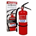 First Alert Pro Series 5 lb. Fire Extinguisher Heavy Duty 3-A:40-B:C