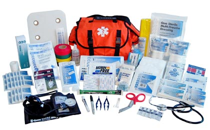 Emergency medical kits supplies