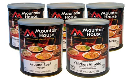 Mountain House Canned Emergency Food