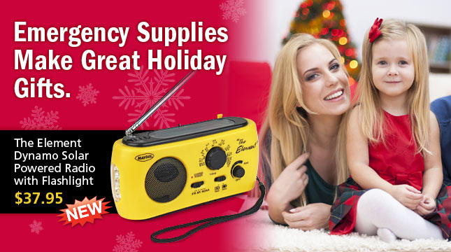 Holiday Gifts - Emergency Supplies