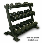 3 Tier Shelf Dumbbell Rack