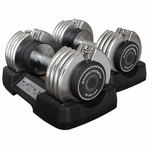 BF0250 E-Series Adjustable Dumbbells - 50lb Set