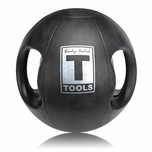 Body Solid BSTDMB18 18lb Dual Grip Medicine Ball