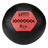 Body Solid BSTSMB6 6lb Wall Ball