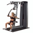 Body Solid DPLS-SF Pro Dual Vertical Press & Lat Machine