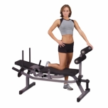 Body Solid GAB100 Horizontal Ab Crunch Machine