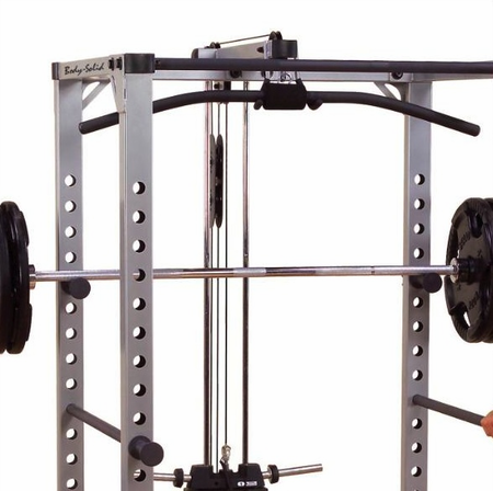 Body Solid GLA378 Lat Attachment For Power Rack