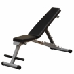 Body Solid PFID125X Powerline FID Folding Bench