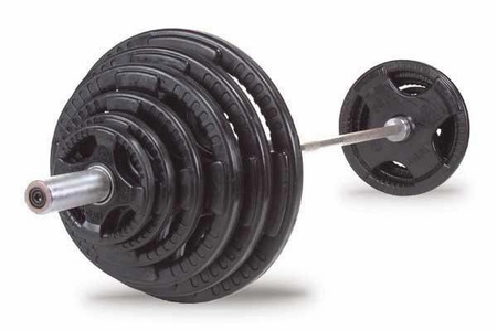 Body Solid Rubber Grip Olympic Weight Set