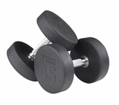 Body Solid SDP Rubber Coated Round Dumbbells