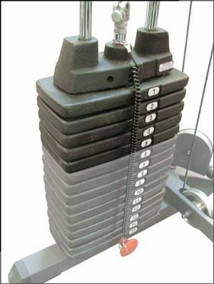 Body Solid SP50 50lb. Weight Stack Upgrade