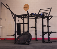 Body Solid SR-HEXCLUB Hexagon Training Rig - Club