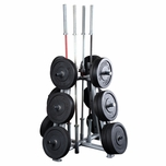 Body Solid SWT1000 Pro Clubline Weight Tree