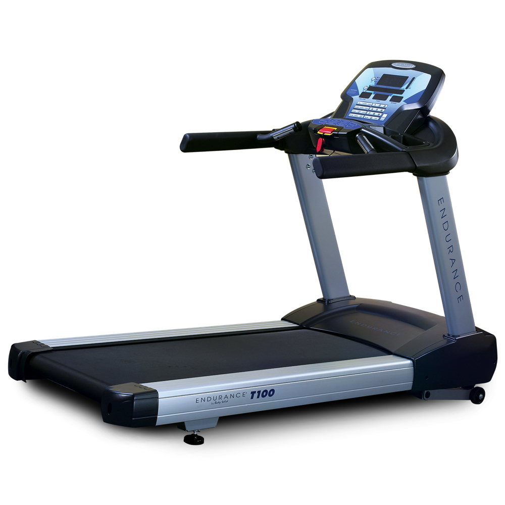 Commercial Treadmill Used: Body Solid T100D Commercial Treadmill