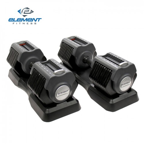 Element 5-55lb Adjustable Dumbbells