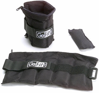GoFit Ankle Weights - 5lb Pair (2.5lb Each)